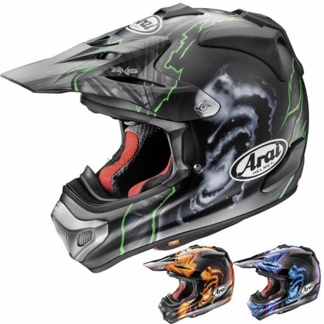 予約販売 ヘルメット/US/ Arai VX-Pro 4 Barciaメンズオフロードダートバイクモトクロスヘルメット Arai VX-P, 数量は多 688db9ed