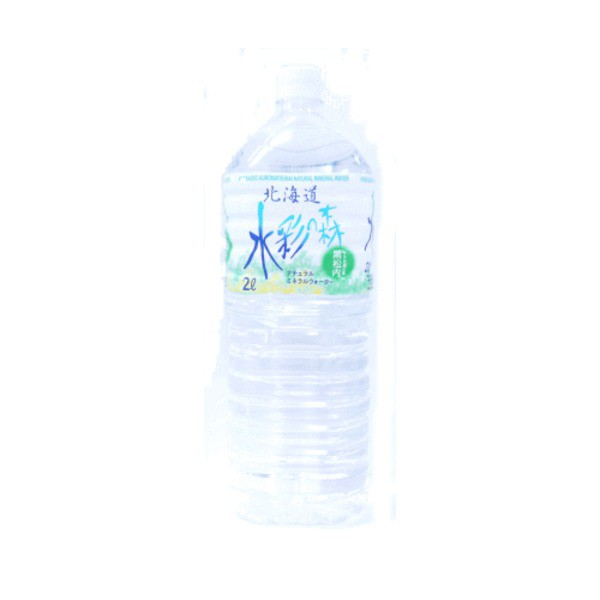 〔6本入り〕水彩の森 ミネラルウォーター 2L(2000ml) ペットボトル 1ケース(ケース販売)北海道黒松内の水 まとめ買い 〔送料無料〕