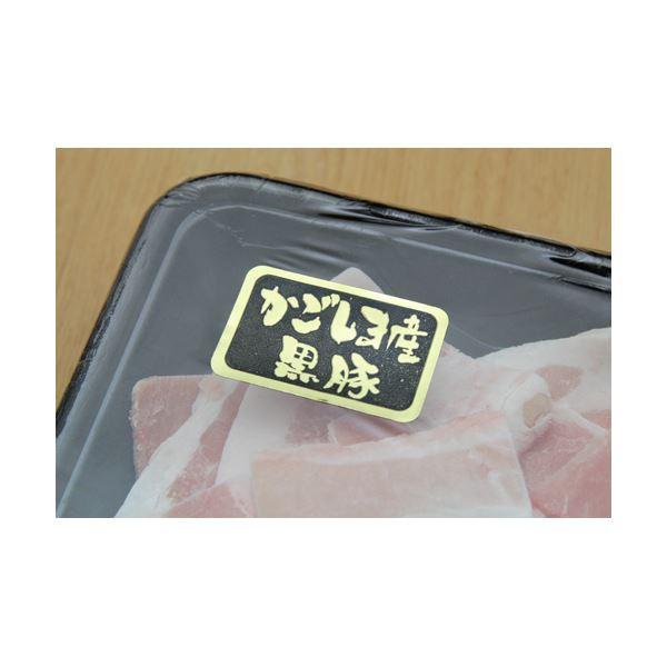 鹿児島黒豚「さつま」切り落とし 1kg 〔送料無料〕