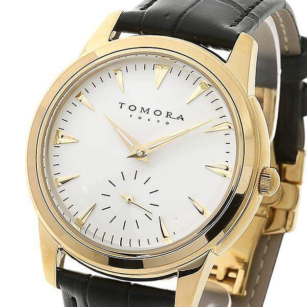 【ギフト】 TOMORA TOKYO(トモラトウキョウ) 腕時計 日本製 日本製 T-1602-GDWH TOMORA 〔送料無料〕, スーツ&ファッションTheShopBIOS:e9f81260 --- chevron9.de