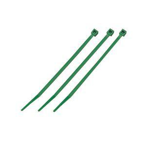 (まとめ)結束バンド ケーブルタイ(カラー) 〔長さ100mm/100本入×10セット〕 グリーン(緑) マーベル MCT-100GN 〔送料無料〕