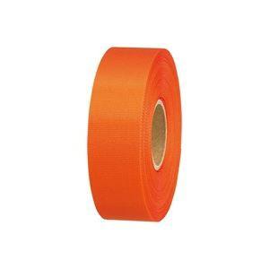 (業務用10セット)ジョインテックス カラーリボンオレンジ 24mm*25m B824J-OR 【送料無料】