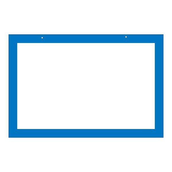 区画標識 区画-200(BL) 〔単品〕 〔送料無料〕