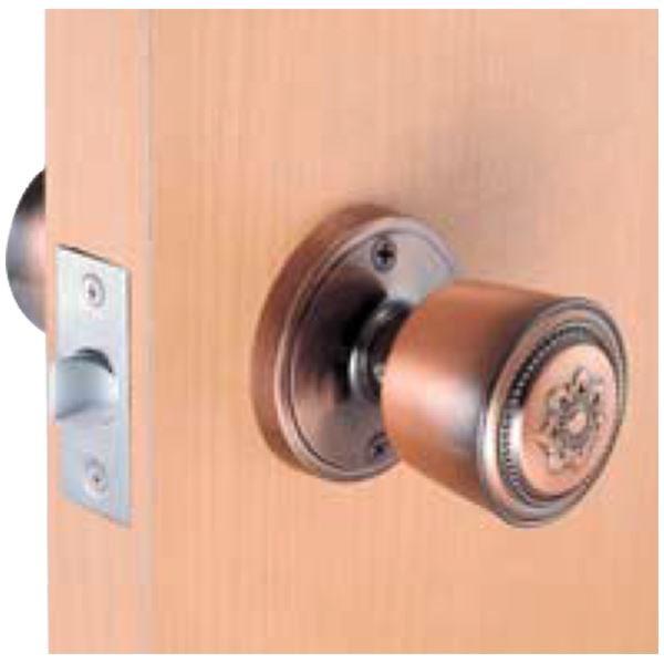 室内用ドアノブ 〔鍵なしタイプ〕 箱入仕様 空錠 『カラー』 川口技研 〔送料無料〕
