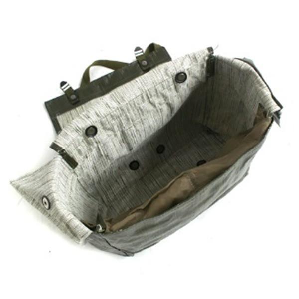 チェコ軍放出 防水布PVCコンバットショルダーバッグ未使用デットストック 【送料無料】