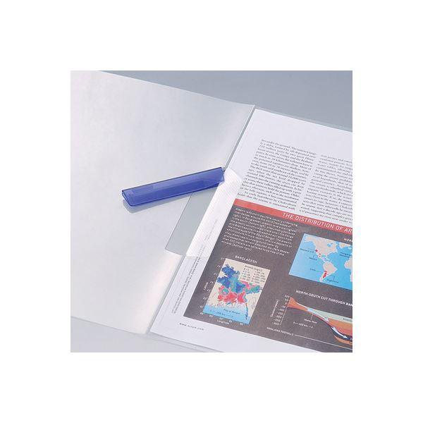 (業務用セット) スイングクリップファイルA4 タテ型 FQ-S4C クリア〔×20セット〕 〔送料無料〕