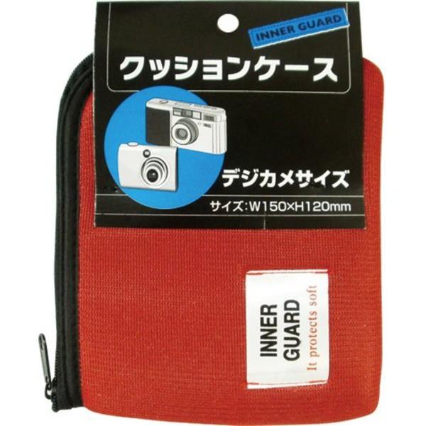 クッションケース デジカメサイズ 色アソート〔12個セット〕 108-13 〔送料無料〕