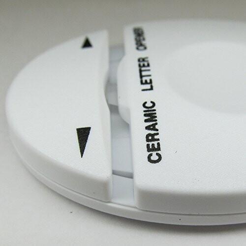 オート レターオープナー セラミックレターオープナー シロ CLO-500シロ