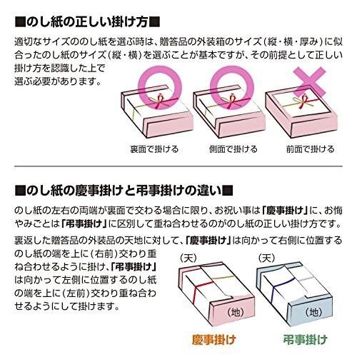 タカ印 のし紙 2-206 祝 京 A4判 100枚