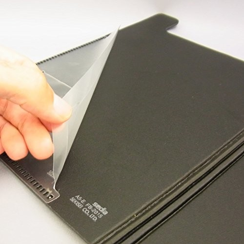 セキセイ クリップボード クリップファイル 発泡美人 A5-E ブラック FB-2015