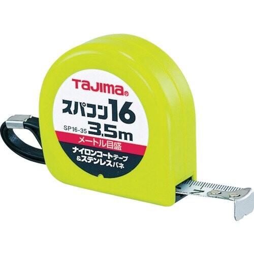 タジマ スパコン16 3.5m 16mm幅 メートル目盛 SP1635BL