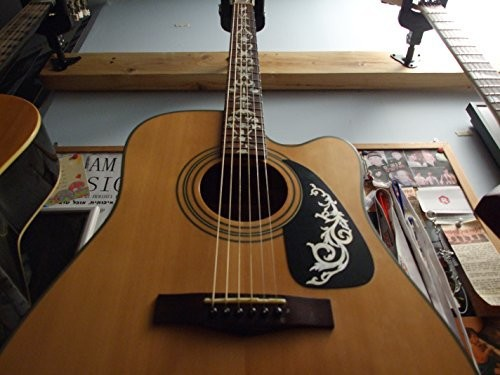 Jockomo ゴシックヴァイン WT 左右対称セットギターやベースにぴったり ピックガードにも イ