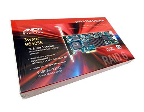 正規品 LSIロジック 3ware PCI Express対応 内部12ポート 3Gb/s SATA RAIDコントローラー 9650SE-12ML KIT, e-家具 ea2f5a20