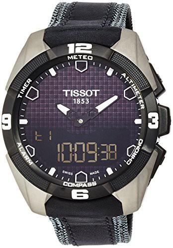 最大80%オフ! 【当店1年保証】ティソTissot Men's T0914204605101 Titanium T-Touch Expert Men's Expert Titanium Watch, 神石郡:679b9979 --- chevron9.de
