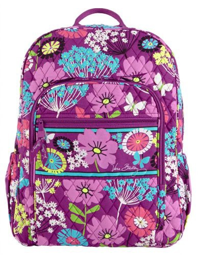 人気提案 ヴェラブラッドリーVera Bradley Campus Backpack Backpack Bradley (Flutterby), エビス堂百貨店:103daef3 --- paderborner-film-club.de