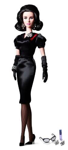 新品同様 inch 12 バービーBarbie Eyes Elizabeth Taylor Mattel Toys Classic Doll Violet by-おもちゃ