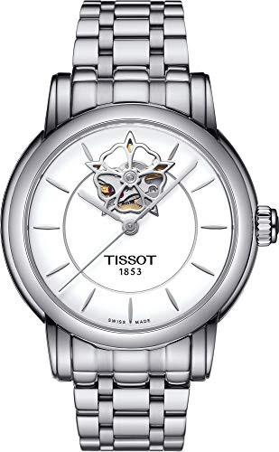 【人気沸騰】 【当店1年保証】ティソTissot Lady Heart Automatic White Dial Stainless Steel Ladies Watch T05020711, COX ONLINE SHOP f79ad39f