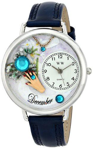 【当店1年保証】気まぐれな腕時計Whimsical Watches Unisex U0910012 Imitation Birthstone: Decemb