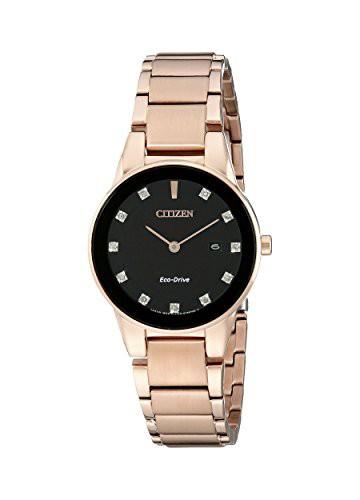 新しいエルメス 【当店1年保証】シチズンCitizen Eco-Drive Women's Women's GA1058-59Q Axiom GA1058-59Q Rose Gold Rose Watch, ヤススポーツ:38992008 --- chevron9.de