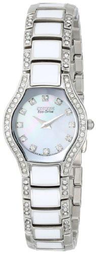 最安価格 【当店1年保証】シチズンCitizen Women's Women's Eco-Drive Crystal Accented Watch, Watch, Eco-Drive EW9870-81D, リブウェル:6c39d57c --- kzdic.de