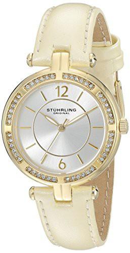 【超歓迎】 Original 【当店1年保証】ストゥーリングオリジナルStuhrling Quartz Women's Vogue 550.04 Cry-腕時計レディース