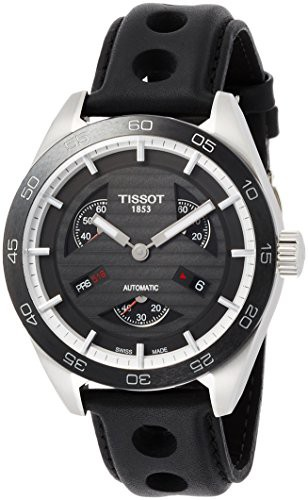 最愛 【当店1年保証】ティソTissot PRS 516 Automatic Black Dial Men's Watch T100.428.16.051.00, ミノクニ商店 b2eac723