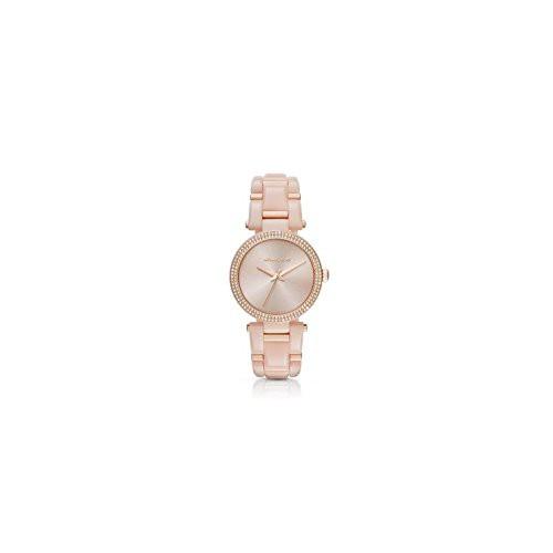 新作人気 Kors MK4322 Delray 【当店1年保証】マイケルコースMichael - Size Rose Gold One-腕時計レディース