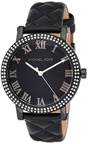 驚きの値段 【当店1年保証】マイケルコースMichael Kors Women's Norie Black Watch MK2620, 平群町 b619c3fe