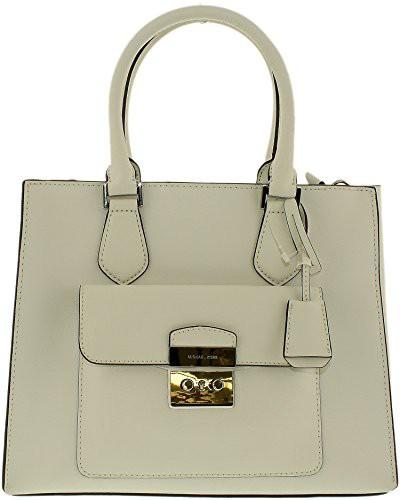 【一部予約販売】 マイケルコースMICHAEL Medium MICHAEL KORS Bridgette Medium Leather Saffiano Leather Tote (Optic Bridgette White), 上関町:61dcf620 --- chevron9.de