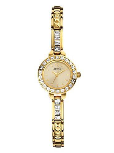 スーパーセール期間限定 【当店1年保証】ゲスGUESS Women's W0429L2 Elegant Gold-Tone Jewelry Inspired Watch, ヒノシ 5145d792