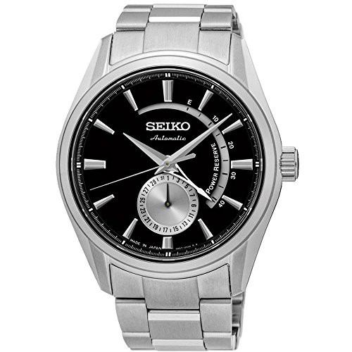 最愛 【当店1年保証】セイコーSeiko Men's Presage 42mm Steel Bracelet & Case Sapphire Crystal Automatic, 浅草満願堂 f2d20221