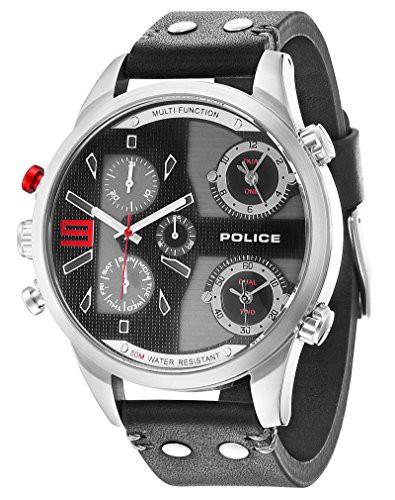 【当店1年保証】ポリスPolice 14374JS-02 Mens Copperhead Black Chronograph Watch