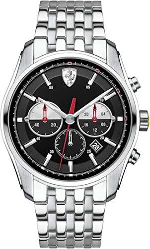 気質アップ 【当店1年保証】フェラーリScuderia Ferrari 0830197 GTB-C Chrono Men's Watch, 優先配送 fead2edc