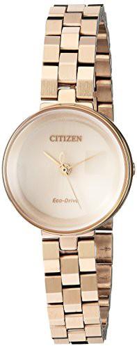 品質満点 【当店1年保証】シチズンCitizen Women's Eco-Drive Japanese-Quartz Watch with Stainless-Steel Strap, 【訳あり】 92ede4a7