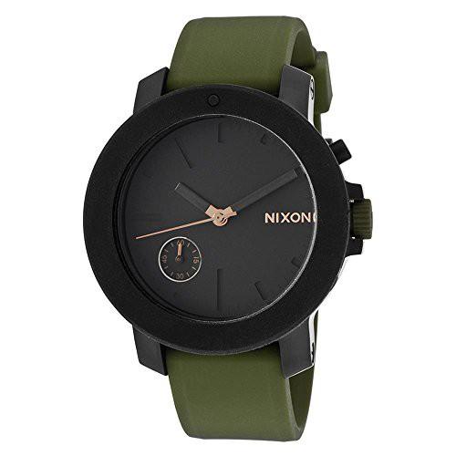 人気を誇る 【当店1年保証】ニクソンNixon Women's 'Raider' Quartz Stainless Steel and Silicone Casual Watch, C, ハナイズミマチ 8980d566