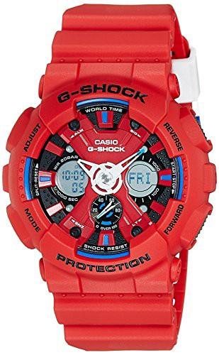 日本製 【当店1年保証】カシオCasio G-Shock GA120TR-4A Men's Watch, 作務衣甚平通販ショップ 和粋庵 dfe497bd