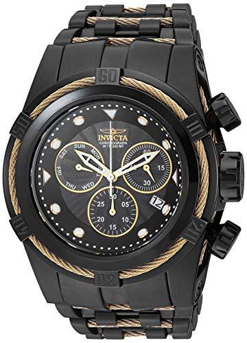 【一部予約!】 【当店1年保証】インヴィクタInvicta Men's Bolt Quartz Watch with Stainless-Steel Strap, Two Tone, マムズリトルシングス cb7ca98c