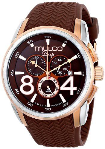 華麗 【当店1年保証】マルコMULCO Unisex MW1-29849-033 Analog Display Swiss Quartz Brown Watch, 鶴見区 08f2cf6f