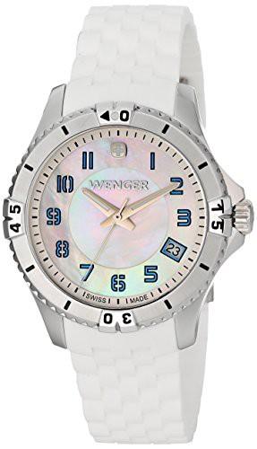 日本限定 White 0121.104 Quartz Watch Swiss 【当店1年保証】ウェンガーWenger Analog Display Women's-腕時計レディース