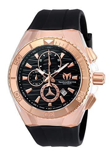 【値下げ】 テクノマリーンTechnomarine メンズ腕時計 TM-115048 Cruise Star ブラック×ゴールド, アキツチョウ f500f0b7