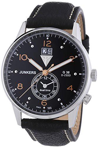 超話題新作 【当店1年保証】ユンカースJunkers G38 Dual Time GMT 6940-5 Watch, 【予約中!】 e2d31add