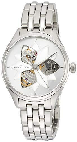 2019春の新作 【当店1年保証】ハミルトンHamilton Jazzmaster Open Heart Lady Watch H32115191, モトノムラ 4046116a