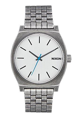 【当店1年保証】ニクソンNixon Time Teller , 37 mm mens watches A045-2701 - Silver / Antique
