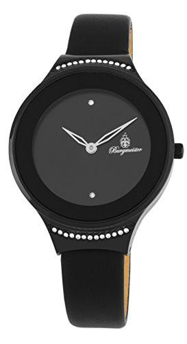 見事な創造力 Steel 【当店1年保証】ブルゲルマイスターBurgmeister Watch Women's Stainless Japanese-Quartz w-腕時計レディース
