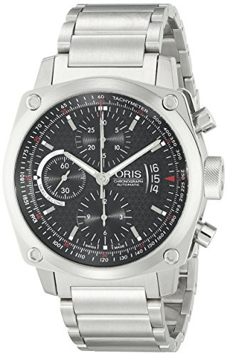 新作 【当店1年保証】オリスOris Men's 4154MB BC4 Chronograph Stainless Steel Bracelet Watch, インポートセレクト musee 3d119dd7
