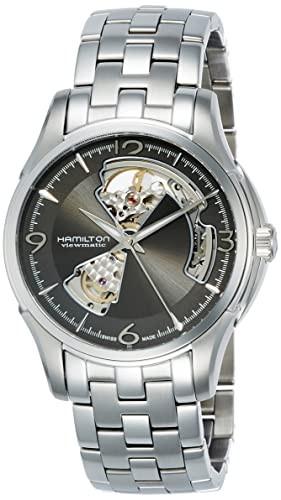 【超目玉枠】 【当店1年保証】ハミルトンMen's Hamilton Jazzmaster Open Heart Automatic Watch Hamilton Heart Automatic H32565185, Blue Dragon:4c711700 --- schongauer-volksfest.de
