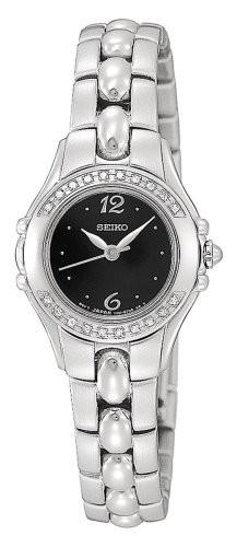 2019年最新入荷 【当店1年保証】セイコーSeiko Diamond Watch Women's Accented SXGN15-腕時計レディース
