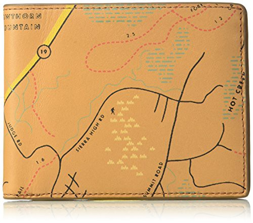 550e1743af02 フォッシルFossil Men's Neel Leather Card Case, brown, One Size-その他財布 -  scc.skola.edu.mt