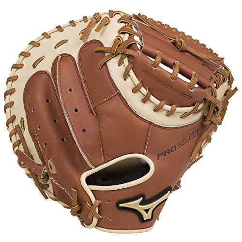 2019人気No.1の グローブMizuno GPS1 335C Pro Select Baseball Catcher's Mitts, Size 33.5, Brown, Right Hand Throw, ウォーキンビレッジ d49001ea