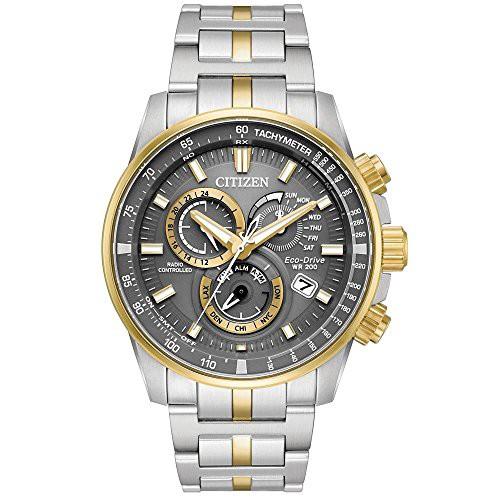 大量入荷 【当店1年保証】シチズンCitizen Watches AT4124-51H Eco-Drive Two-Tone One Size, 豊田市 ef3c9e81